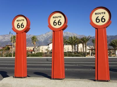 Route 66 Signs-Richard Cummins-Photographic Print
