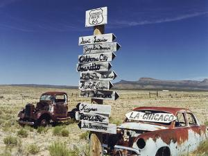 Route 66 Which Cross United States from Los Angeles to Chicago, Photo Taken in 2005