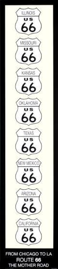 Route 66-Rod Kennedy-Art Print