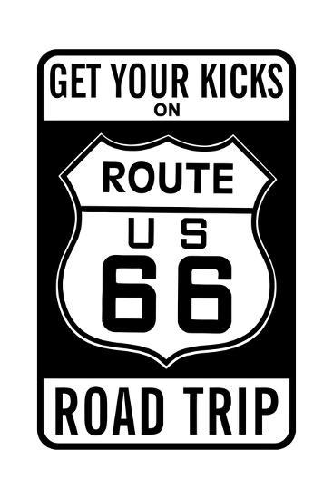 Route 66--Giclee Print