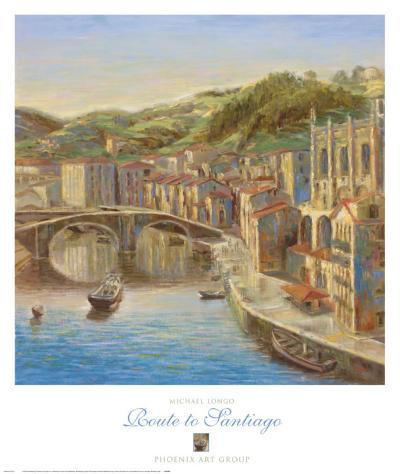 Route to Santiago-Michael Longo-Art Print