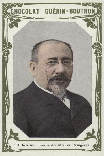 Rouvier, Ministre Des Affaires Etrangeres--Giclee Print