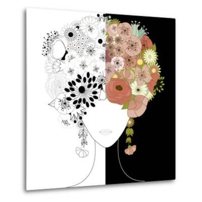 Woman Floral Silhouette