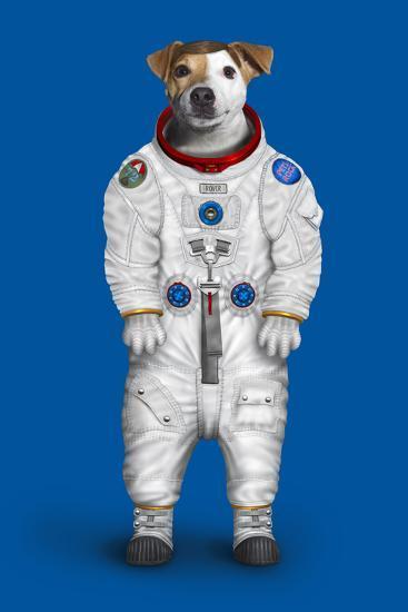Rover (Pets Rock)-Takkoda-Art Print