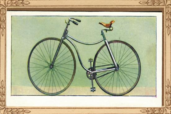 Rover Safety Bicycle', 1939-Unknown-Giclee Print