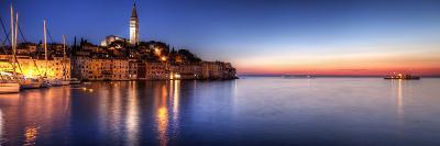 Rovinj Blue Hour Sunset / Istria, Croatia-Copyright NielsKristian Photography-Photographic Print
