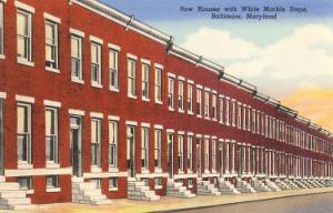 Row Houses, Baltimore, Maryland