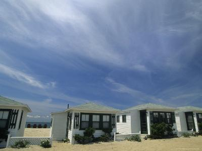 Row of Small Cottages Along the Beach at North Truro-Michael Melford-Photographic Print
