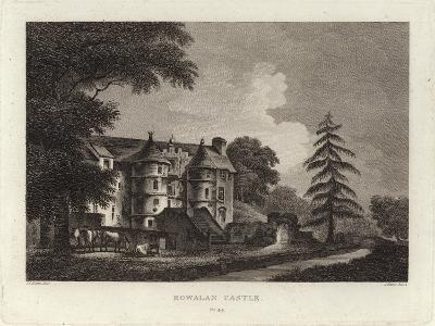 Rowallan Castle-John Claude Nattes-Giclee Print