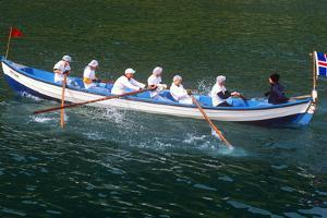 Rowboat Race, Competition, Seamen's Festival, Westman Islands, Iceland