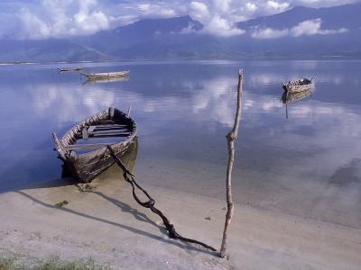 Rowboats, Danang, Vietnam-Fred Scribner-Photographic Print