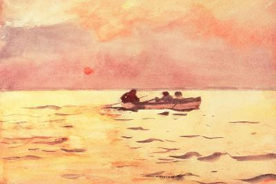 Rowing Home, 1890-Winslow Homer-Giclee Print