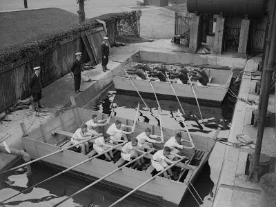 Rowing Training--Photographic Print