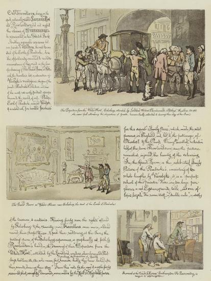 Rowlandson's Tour in a Post Chaise, 1782-Thomas Rowlandson-Giclee Print