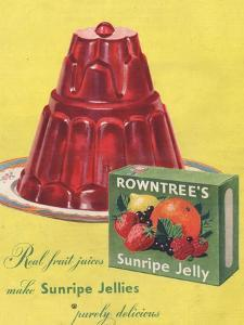 Rowntree's, Jelly, Desserts, UK, 1950