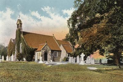 Rowsley Church--Photographic Print