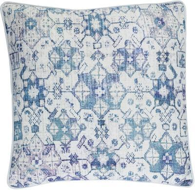 Roxana Poly Fill Pillow - Blue
