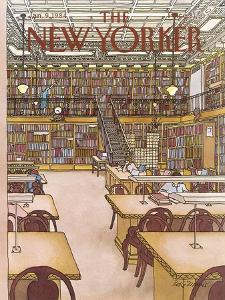 The New Yorker Cover - January 9, 1984 by Roxie Munro