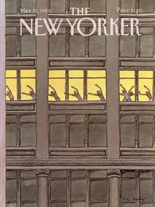 The New Yorker Cover - March 21, 1983 by Roxie Munro