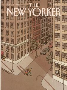 The New Yorker Cover - October 6, 1986 by Roxie Munro
