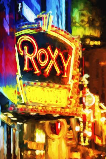 Roxy - In the Style of Oil Painting-Philippe Hugonnard-Giclee Print