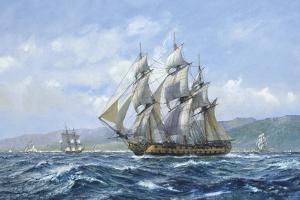 HMS Agamemnon Tolilon, Nelsons Favourite by Roy Cross