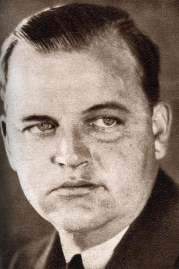 Roy Del Ruth, American Hollywood Film Director, 1933--Giclee Print
