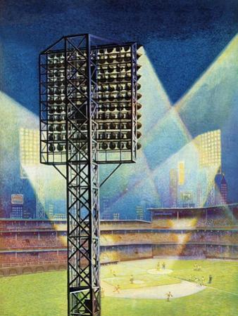 """Baseball Stadium at Night,"" June 28, 1941"