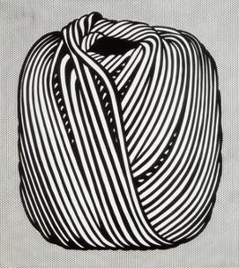 Ball of Twine, 1963 by Roy Lichtenstein