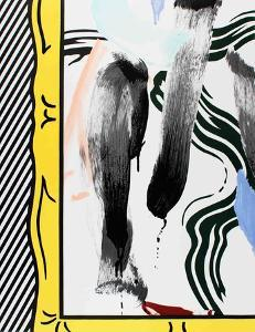 Brushstrokes by Roy Lichtenstein