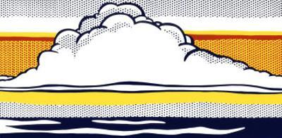Cloud and Sea, 1964 by Roy Lichtenstein