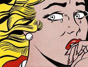 Crying Girl, c.1963 by Roy Lichtenstein