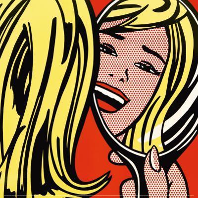 Girl in Mirror, c.1963 by Roy Lichtenstein