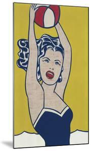 Girl with Ball by Roy Lichtenstein