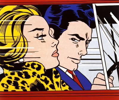 In the Car, c.1963 by Roy Lichtenstein