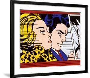 In the Car, c.1963 by Roy Lichtenstein