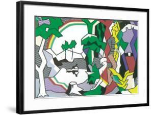 Landscape with Figures, 1980 by Roy Lichtenstein