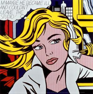 M-Maybe, c.1965 by Roy Lichtenstein