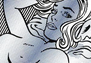 Seductive Girl by Roy Lichtenstein