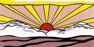 Sunrise, c.1965 by Roy Lichtenstein