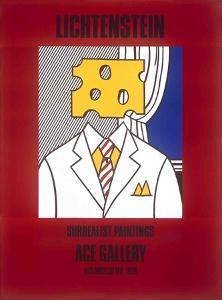 Surrealist Paintings (Cheese Head) by Roy Lichtenstein