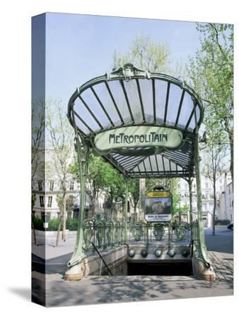 Abbesses Metro Station, Paris, France