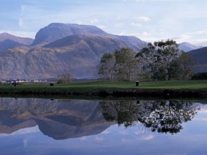 Ben Nevis from Corpach, Highland Region, Scotland, United Kingdom by Roy Rainford