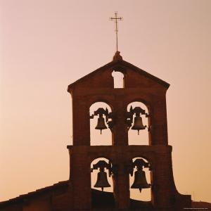 Church Bells at Sunset, Florence, Tuscany, Italy by Roy Rainford