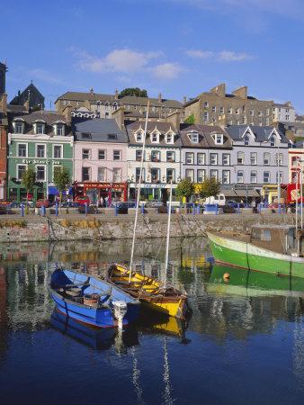 Cobh Harbour, Cork, County Cork, Munster, Republic of Ireland (Eire), Europe