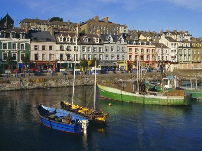 Cobh Harbour, County Cork, Munster, Republic of Ireland (Eire), Europe