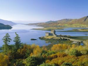 Eilean Donan (Eilean Donnan) Castle, Dornie, Highlands Region, Scotland, UK, Europe by Roy Rainford