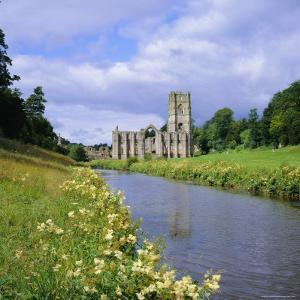 Fountains Abbey, North Yorkshire, England, UK, Europe by Roy Rainford
