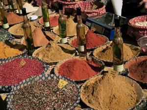 Herbs and Spices, Aix En Provence, Bouches Du Rhone, Provence, France by Roy Rainford