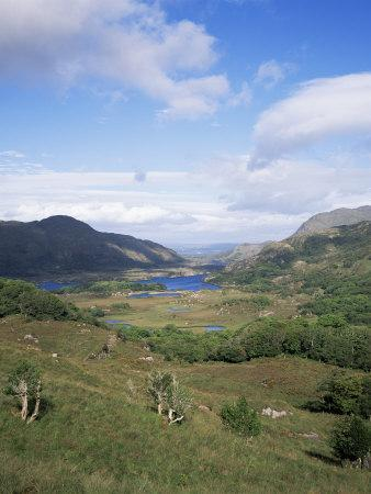Ladies View, Ring of Kerry, Killarney, County Kerry, Munster, Eire (Republic of Ireland)